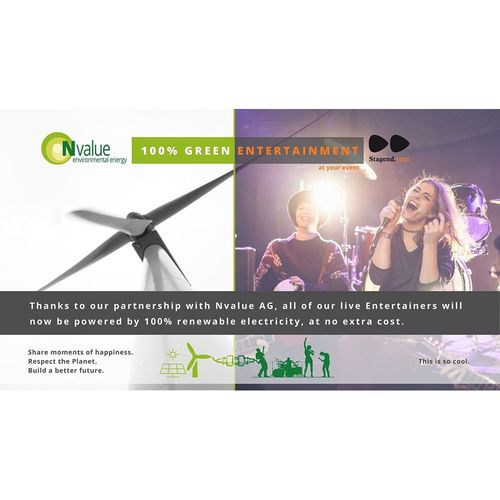 Renewable power for your event